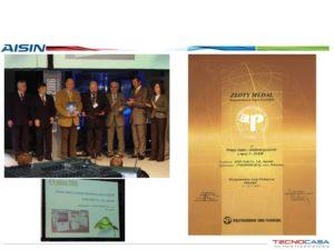 Złoty medal Poleko 2006 dla GHP AISIN