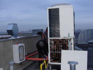Przygotowania do rozruchu Gazowej Pompy Ciepła GHP16HP E1 w Ultranet
